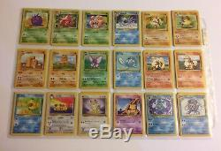 151/150 Original Pokemon Card Set ALL HOLOS 1st Edition Cards Base