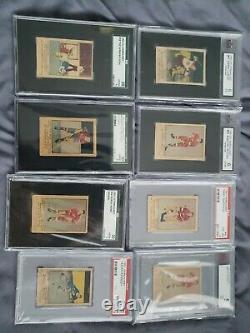1951 Parkhurst All Graded Complete Set Of 105 Hockey Cards