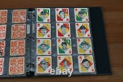1951 Topps Red Back Master Set 54/54 All Cards and Variations