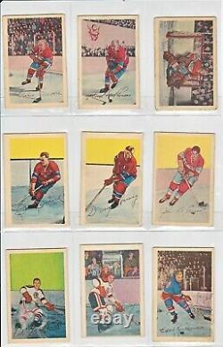 1952-53 Parkhurst Complete set (all 105 cards)