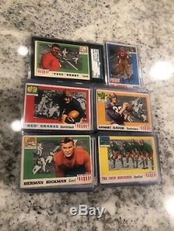 1955 Topps All American Football Complete Set 100 Cards Nice Condition Vintage