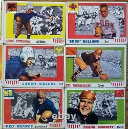 1955 Topps All American Partial Set 24 Cards Red Grange Otto Graham Kinnick