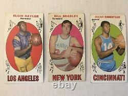 1969 Topps Basketball Complete Set! Lew Alcindor RC, Wilt, West All 99/99 Cards