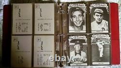 1973-79 TCMA All-Time Greats Post Cards Complete SET of 156 total NM
