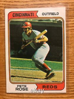 1974 Topps baseball complete set 1-660 all cards ExMt or better