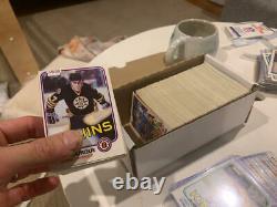 1981-82 OPC O-Pee-Chee NHL Near Complete Set 371/396 All HOF RCs Gretzky ++