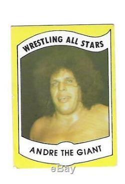 1982 Wrestling All Stars Series A Set Break #1 Andre The Giant
