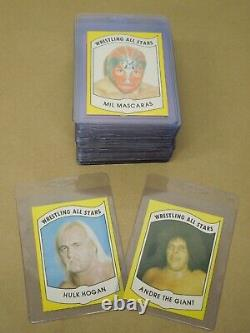 1982 Wrestling All-stars Cards Complete Set Series A & B 1-36 (72 Total Cards)