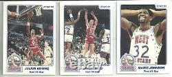 1984 Star Company 25-card All Star Game Basketball Set Larry Bird