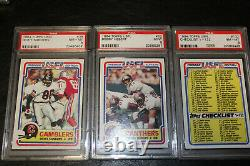 1984 Topps USFL Football Complete Set With ALL STARS PSA 8+ NM/MT