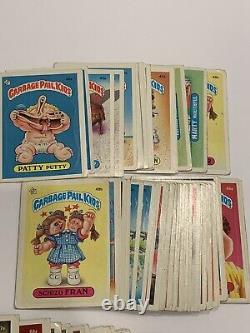 1985 Topps Garbage Pail Kids GPK Series 2 OS2 Set 84 Cards ALL MATTE TWT