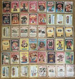1989 Garbage Pail Kids Argentina Basuritas Complete Set Of All 148 Cards