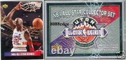 1992-93 Upper Deck All-star Factory Sealed Box Set Shaq Rc + Michael Jordan