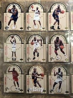 1993-94 Upper Deck SE Die Cut All Stars Complete 30 Card Insert Set Penny Shaq
