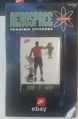 1993 Nike Warner Jordan 6 Mini Poster Cards Ad 1984 Draft All Star Hof Oddball