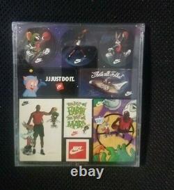 1993 Nike/warner Jordan 12 Mini Poster Cards Ad 1984 Draft All Star Hof Oddball