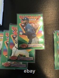 1993 Topps Finest Baseball Complete Set #1-199 Griffey Ryan Bonds ALL SLEEVED