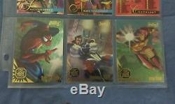1995 Flair Marvel Annual Complete! (base set and all inserts) 201 total cards