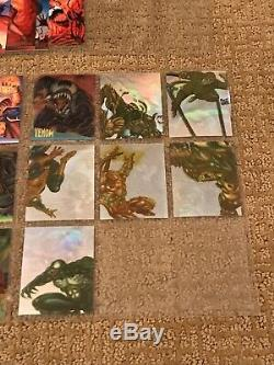 1995 Fleer Ultra Spider-Man Complete Card Set(150) & All Chase Cards(34) NICE