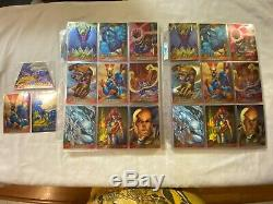 1995 Fleer Ultra X-Men All-Chromium Base, Gold Signature, Chase Card Sets + MORE