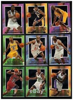 1996-97 E-x2000 82-card Near Set 76/82 No Jordan No Kobe No Iverson All Scanned