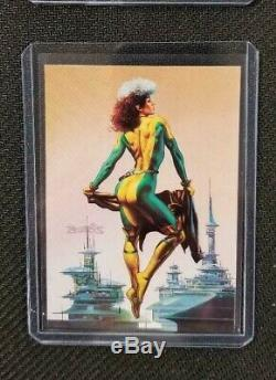 1996 Marvel Masterpieces DOUBLE IMPACT COMPLETE SET NM ALL 6 CARDS
