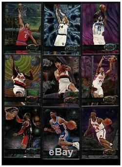 1997-98 Metal Universe Nba 125-card Near Set 108/125 All Scanned