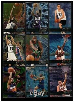 1997-98 Metal Universe Nba 125-card Near Set 108/125 All Scanned Shaq Olajuwon