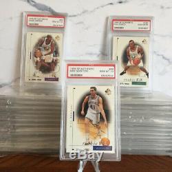 1998-99 Sp Authentic Rookie Card Set Of 30 All Psa 10 + Base Set Vince Carter