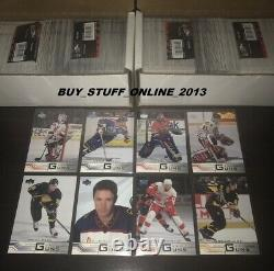 2001 02 UPPER DECK COMPLETE SET S1 & 2 (1-441) MINT with ALL YOUNG GUNS