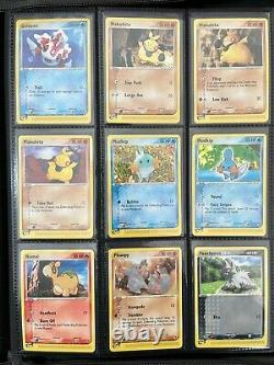 2003 Pokemon Card EX Ruby & Sapphire Complete Rare Set All 109/109 Including EX