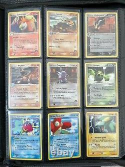 2004 Pokemon Card EX Team Magma vs Team Aqua Complete Set All Including EX 97/95