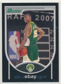 2007-08 Bowman Basketball Complete 160 Card Set + All Rookies (DURANT)