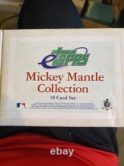 2007 eTopps Mickey Mantle Collection 18 Card Set-LE /999 All Cards Matching #
