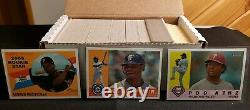 2009 Complete TOPPS HERITAGE HIGH SET (220) Cards #501-720 ALL 35 SPs MINT