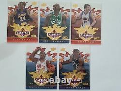 2009 Ud Phoenix All Star Game Fanfest 10 Card Set Lebron Jordan Kobe & More Rare