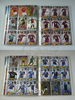 2010 2011 Champions League ADRENALYN XL PANINI binder + set (ALL 350 cards)