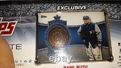 2012 12 Topps Factory Sealed Baseball Complete Set ALL 5 Babe Ruth Ring Card