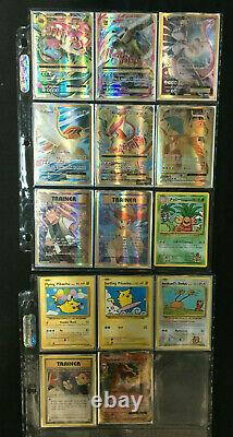 2016 Pokemon Evolutions Near Complete Master Card Set With All Charizards Mint