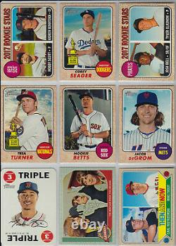 2017 Topps Heritage Complete Master Set (600 Cards) ALL SLEEVED Base SPs Inserts