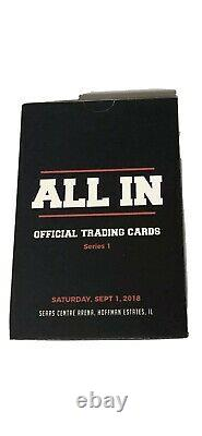 2018 All In Trading Card Set 1-36 Omega Page Britt Baker MJF Fenix Janela AEW RC