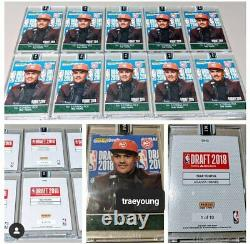 2018 PANINI INSTANT TRAE YOUNG RC FIRST LOOk NBA CARD GREEN /10 ALL 10 SET 1/1