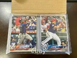2018 Topps Update Complete Set 1-300 Loaded! Acuna Rc All Nrmt/mt