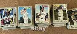 2019 TOPPS HERITAGE COMPLETE MASTER SET 1-725 With all SP's TATIS TROUT ACUNA