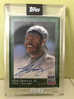 2019 Topps 150 Years of Baseball Complete Set All 133 Cards + Bench/Griffey Auto