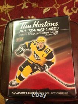 2020-21 UD/Tim Horton's Complete Master Set 270 Cards Plus Binder L@@k All Trio