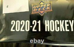 2020-21 Upper Deck complete series 2 set (200 card base set & all 50 Young Guns)