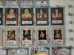2020 Leaf Ultimate Wrestling 113 card set all mint all cards in pics included