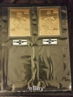 22KT Gold World Wrestling Federation Cards (all 120 cards)