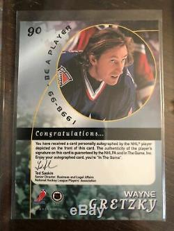 98-99 Be a Player BAP Autographs Complete Set 300 with all SP incl rare Gretzky